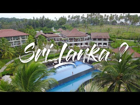 BEST LUXURY BEACH RESORT + DALAWELLA BEACH SWING | SRI LANKA VLOG 5/5