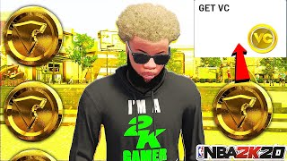 *NEW* NBA 2K20 NEW UNPATCHABLE VC GLITCH!60K IN ONE DAY!AFTER PATCH 1.12 PS4&XB1!
