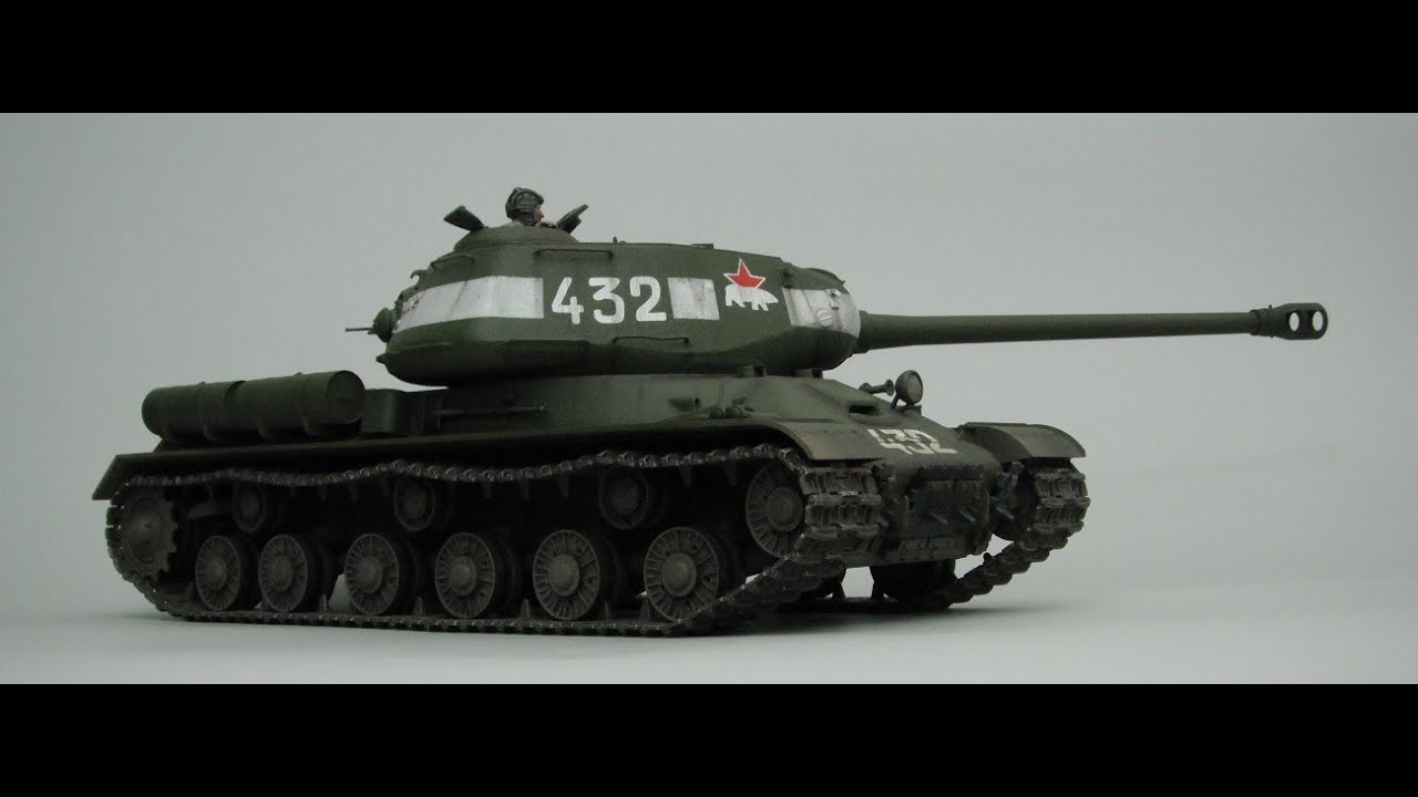 1/16th Scale RC Tamiya IS-2 Tank.