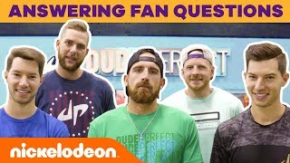Dude Perfect Answers Your Fan Questions & More! | #NickStarsIRL