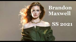 Brandon Maxwell весна лето 2021 Женская мода