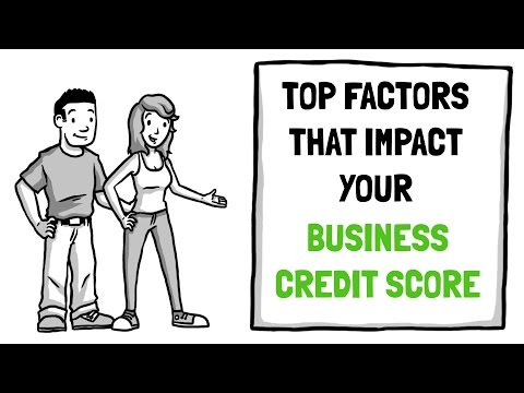 Top factors that impact your business credit score