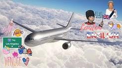 Avion/Plane - Marignanne/Marseille ~ Londres/London ~ Los angeles