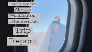 [TRIP REPORT]: Business Class   South African Airways   Washington - Johannesburg   A330-200