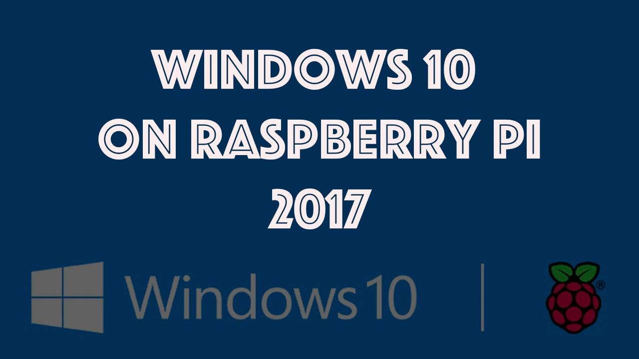 Install Windows 10 Iot Core On Raspberry Pi 2 Youtube