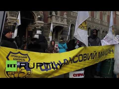 Ukraine: Hryvnia drastic devaluation leads to fury at National Bank