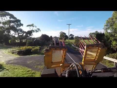 Ensilage Australie/ Australian silage : Smithton Tasmania