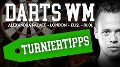 DART WM - Prognosen, Tipps, Wetten, Vorhersagen zur Darts Weltmeisterschaft // Allypally - London