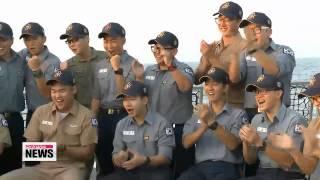 Korea′s peacekeeping troops celebrate Lunar New Year   대한민국 파이팅...파병장병들의 설맞이