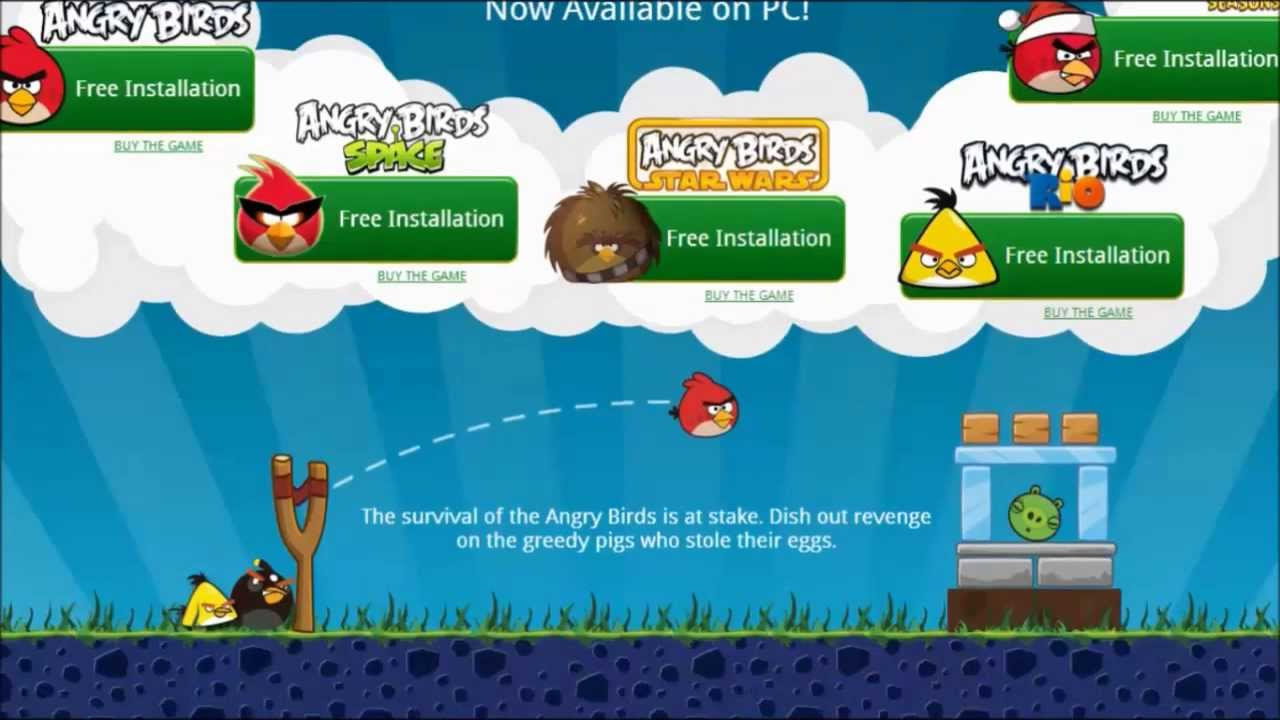 Angry birds pc game download
