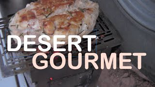FIREBOX Grilled Lemon Rosemary Chicken with Green Beans Campfire Cooking Over An Open Flame!