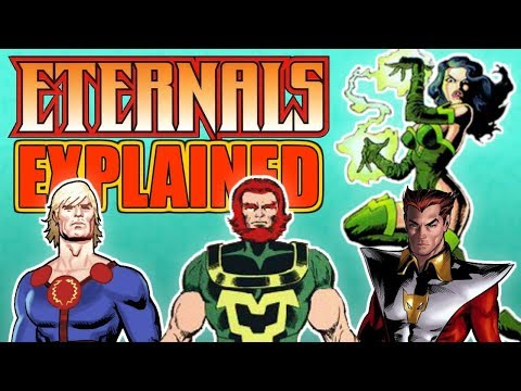 The eternals marvel movie characters