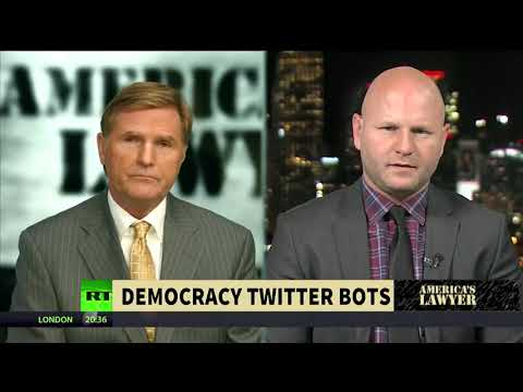 'Pro-Hillary Bots' Used Twitter Bots on Sanders Supporters | America's Lawyer on RT America |
