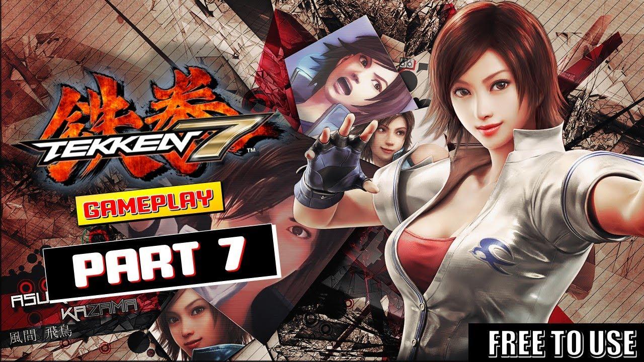 Tekken 7 Asuka Gameplay - Free To Use