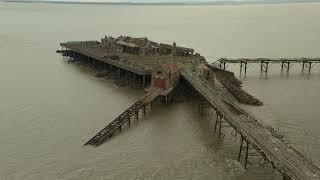 Birnbeck Pier - Weston Super Mare (WSM) (4K)