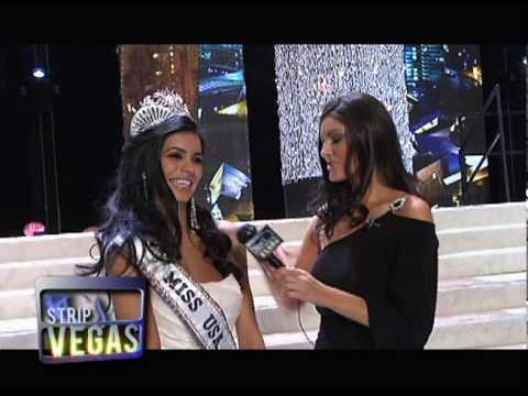 Miss USA - Donald Trump & Rima Fakih Interviews onstage