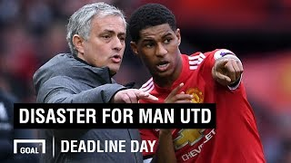 Disaster for Man Utd - who won and lost the transfer window