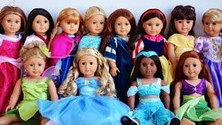 ✿ Куклы AMERICAN GIRL Влог Магазин Кукол Америка Принцессы AMERICAN GIRL Doll  play Doll baby toy
