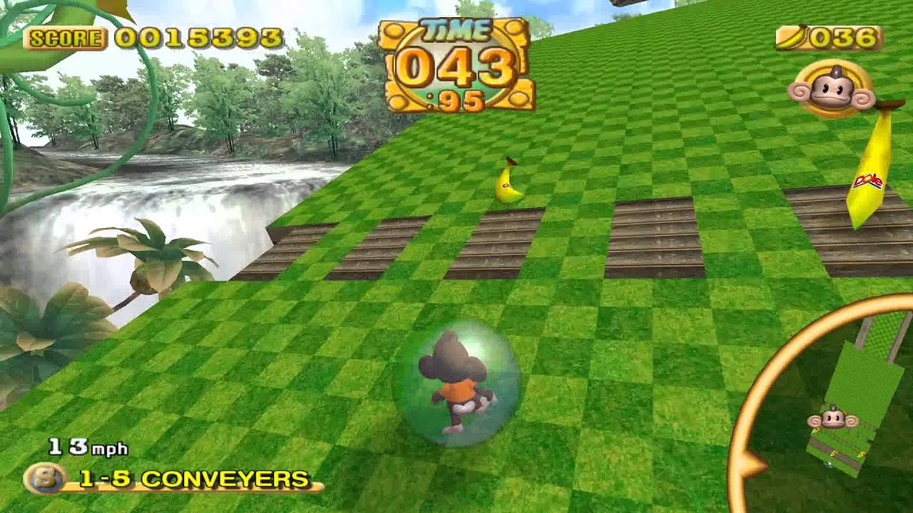 super monkey ball gamecube gameplay - best gamecube games