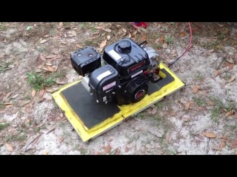 12 volt power DIY generator, How to reduce noise easily.