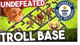 war and farming troll base funny attack😂