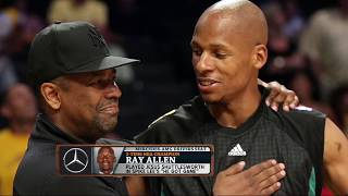 """Ray Allen Talks """"He Got Game"""" Sequel, If Denzel Really Schooled Him 