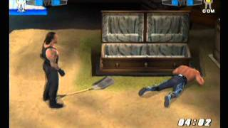 Smackdown vs Raw 2006 Buried Alive Match Undertaker vs Hulk Hogan