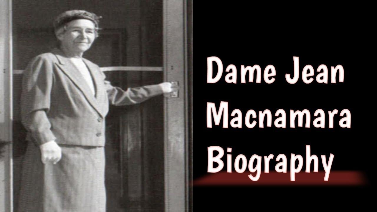Dame Jean Macnamara Biography Youtube