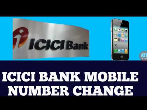 How To Change Register Mobile Number In Icici Bank Through Atm