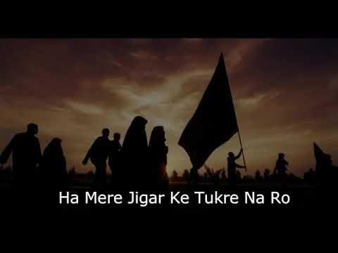 Na Ro Zainab Na Ro || Sham E Ghareeban || Noha || Whatsapp Status || Servant Panjtan