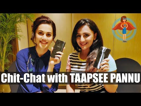 Madam Tech meets Taapsee Pannu - Brand Ambassador of Panasonic