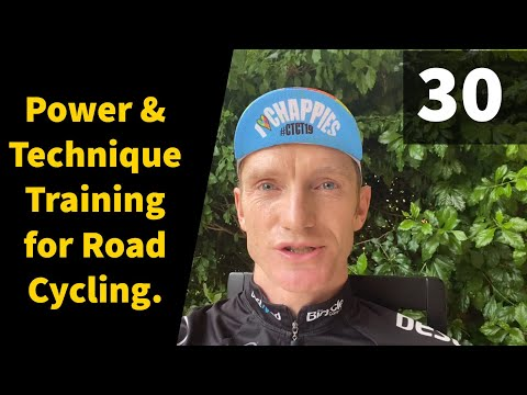 Power & Technique Training for Road Cycling