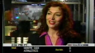 Lynne Russell - last newscast on Headline News