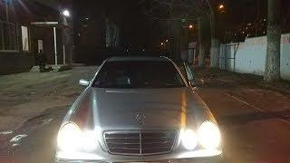 LED лампы в габариты Mercedes-Benz w210 / Canbus BA9S * ОПЫТ ИСПОЛЬЗОВАНИЯ *