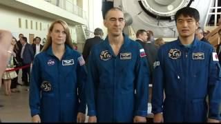 Next Space Station Crew Trains Near Moscow