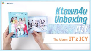 "🎁Unboxing & Giveaway ITZY ""IT'Z ICY"" album, 있지 언박싱 Kpop Ktown4u"