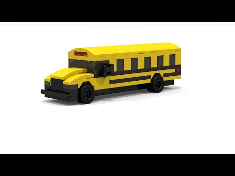 lego duplo school bus instructions