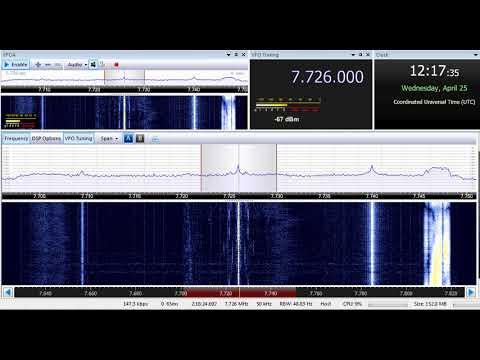 25 04 2018 Zeppelin Radio Greek Music Pirate 1217 on 7726 kHz