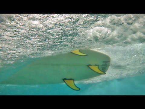 Surfing From Below - Encuentro Beach, Cabarete, Dominican Republic