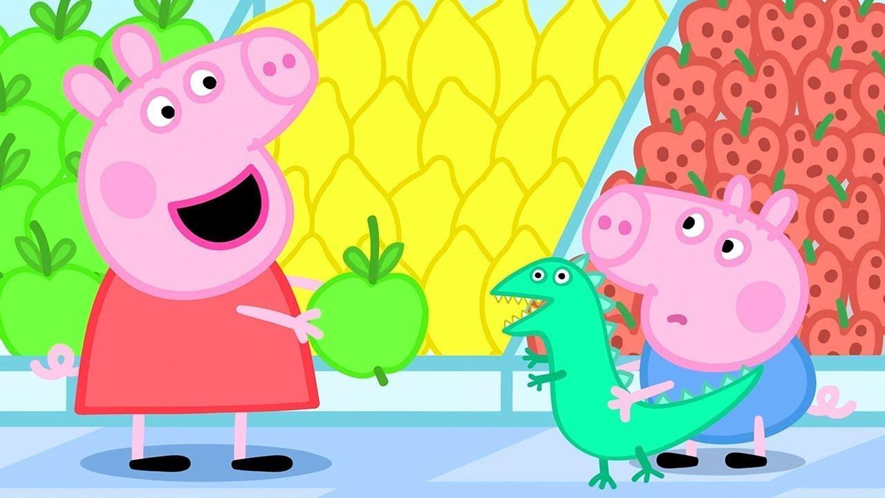 Peppa Pig in Hindi - Shopping - हिंदी Kahaniya - Hindi Cartoons for Kids