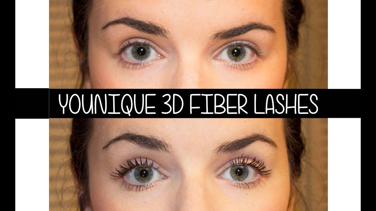 First Impression Review || Younique Moodstruck 3d Fiber Lashes ...