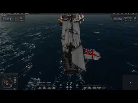 Naval Action: Santa Cecilia vs Indiaman with 2x Trincomalee