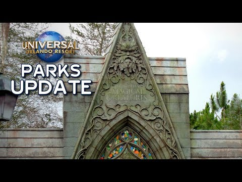 Universal Orlando Parks Update May 2019 - Jurassic Coaster, Hagrid, Bourne Show, Today Cafe & More