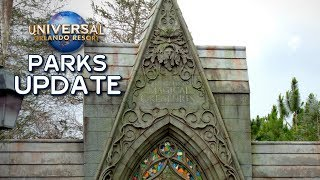 Universal Orlando Parks Update May 2019 - Jurassic Coaster, Hagrid, Bourne Show, Today Caf ...