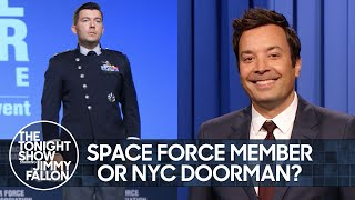 Space Force Unveils Bizarre Uniform and U.N. Won't Check Vaccine Status | The Tonight Show