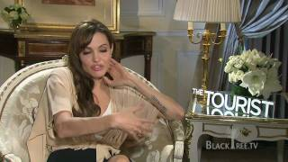 The Tourist -  Interview w/ Angelina Jolie