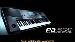 Korg PA 600 Juzni Vetar demo