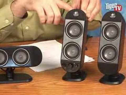 hqdefault logitech x 530 surround sound speaker system youtube logitech speakers x 230 wiring diagram at bakdesigns.co
