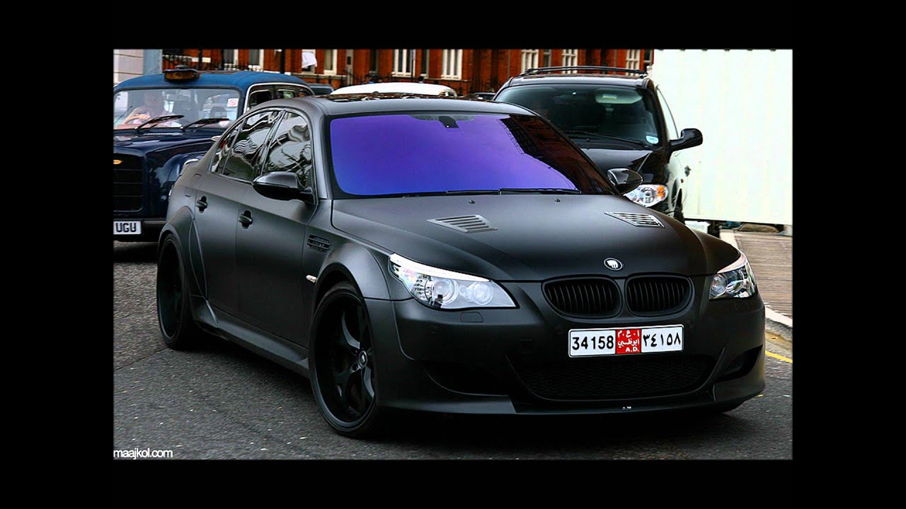 Matte Black Bmw M5 1080p Hd Youtube
