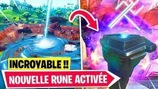 UNE NOUVELLE RUNE APPARAÎT en DIRECT sur Fortnite !!
